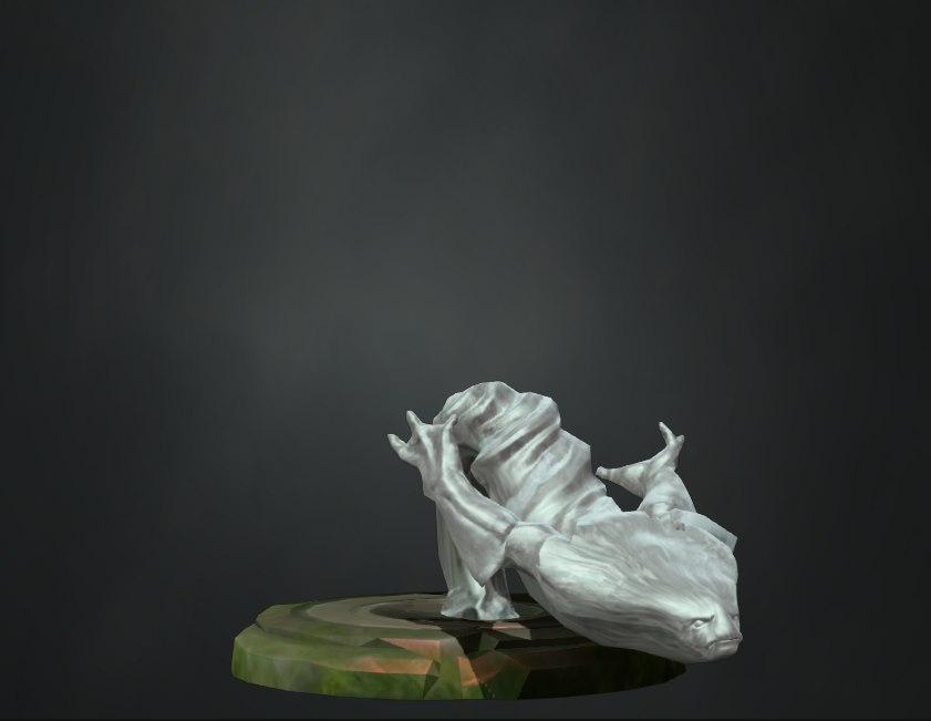 Как сделать статую в дота 2