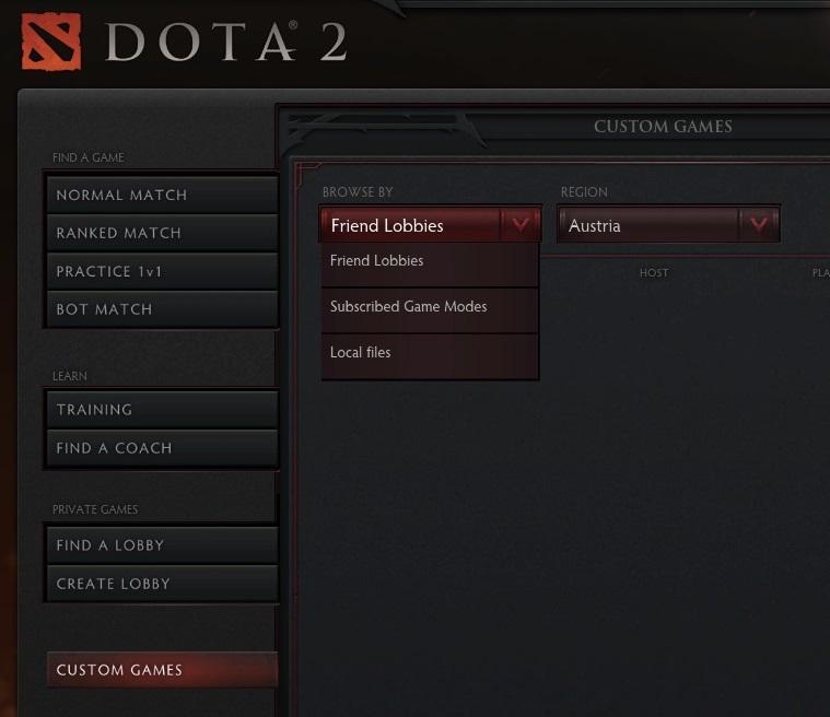 Valve реализовали кастомные карты в Dota2. (UPD5: добавлены новые карты) Dota2.net